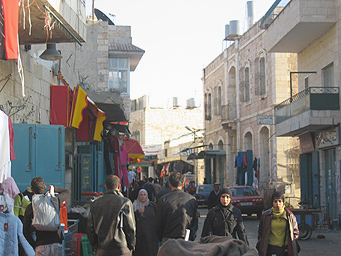 Vieille ville, Bethlehem, Palestine