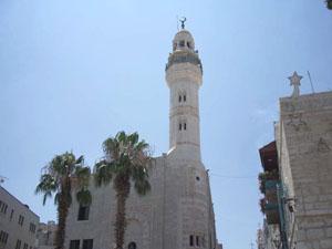 Mosquée d'Omar, Bethlehem, Palestine
