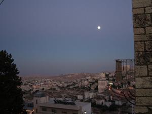 Soir à Bethlehem, Palestine